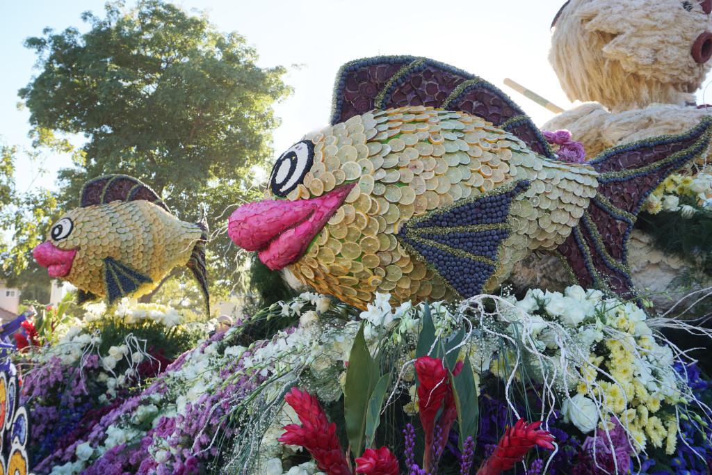 Tournament of Roses Rose Parade Pasadena California Fish